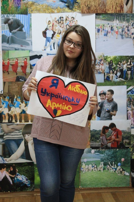В Днепропетровске украинскую армию поддержали флешмобом (ФОТО), фото-12