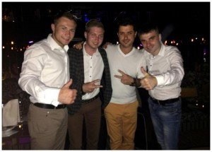Тернополяни з гурту Тріода виступили у караоке-барі чоловіка Ані Лорак, фото-1