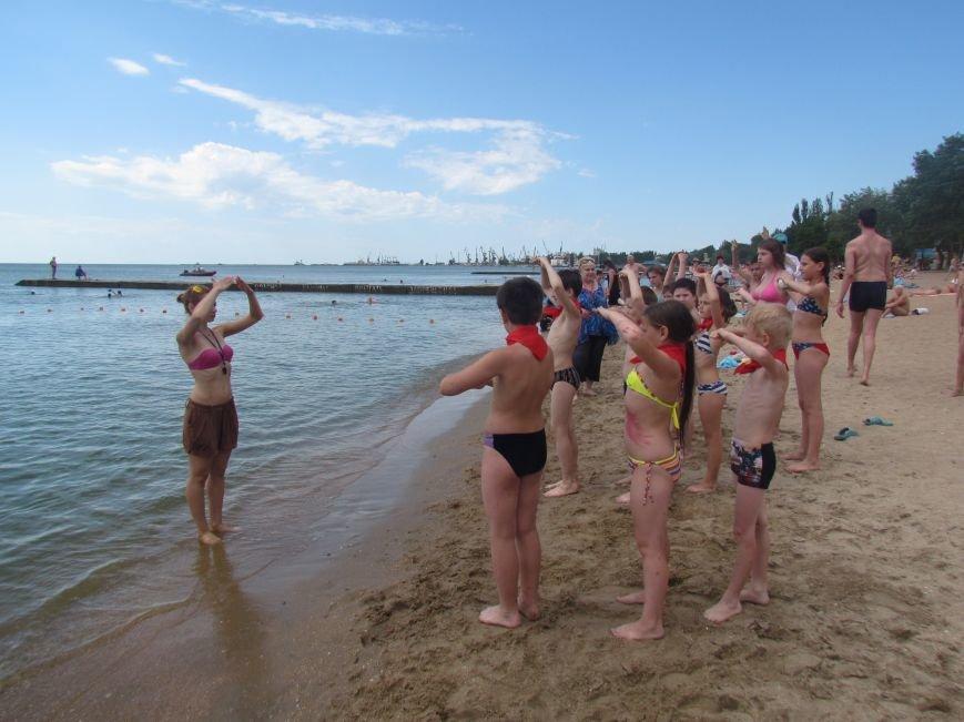 В Мариуполе открылась летняя школа плавания (ФОТОРЕПОРТАЖ), фото-23