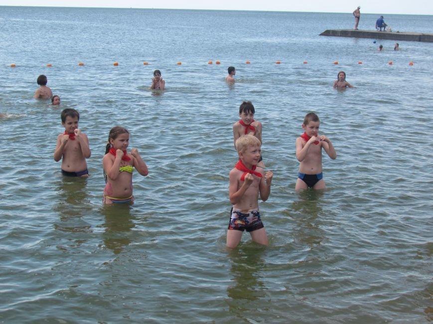 В Мариуполе открылась летняя школа плавания (ФОТОРЕПОРТАЖ), фото-24