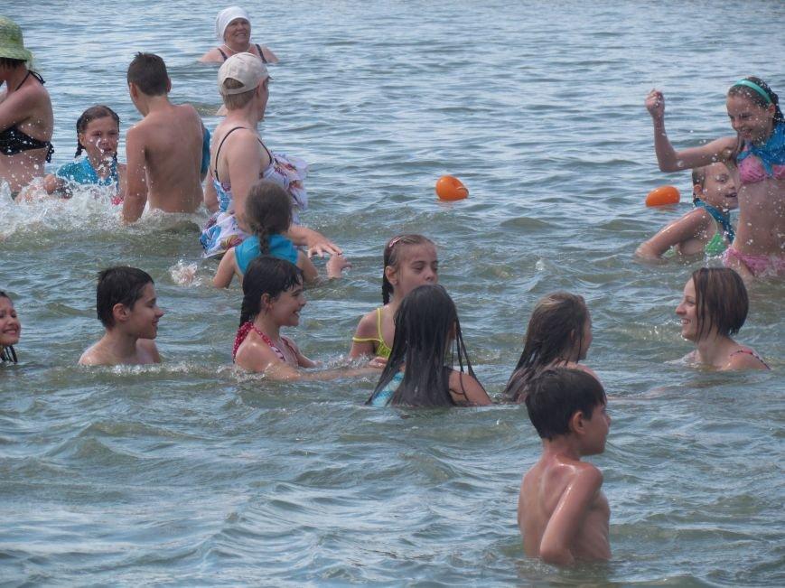 В Мариуполе открылась летняя школа плавания (ФОТОРЕПОРТАЖ), фото-31