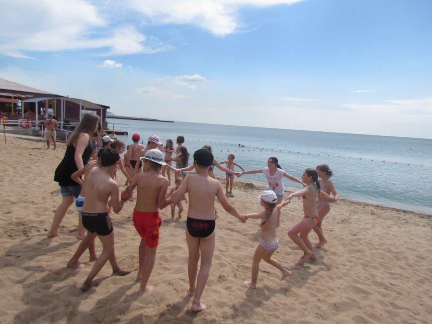 В Мариуполе открылась летняя школа плавания (ФОТОРЕПОРТАЖ), фото-5