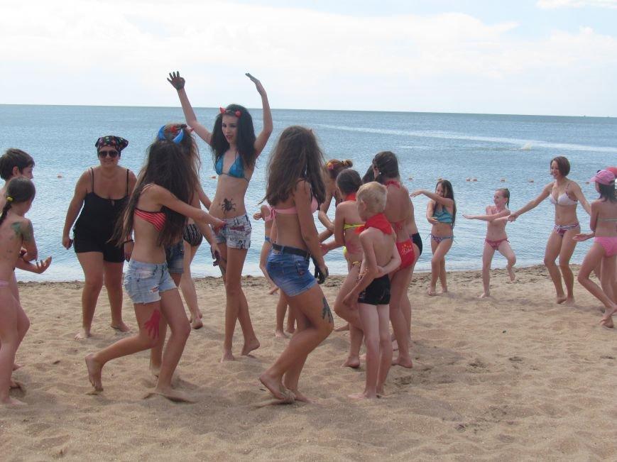 В Мариуполе открылась летняя школа плавания (ФОТОРЕПОРТАЖ), фото-11