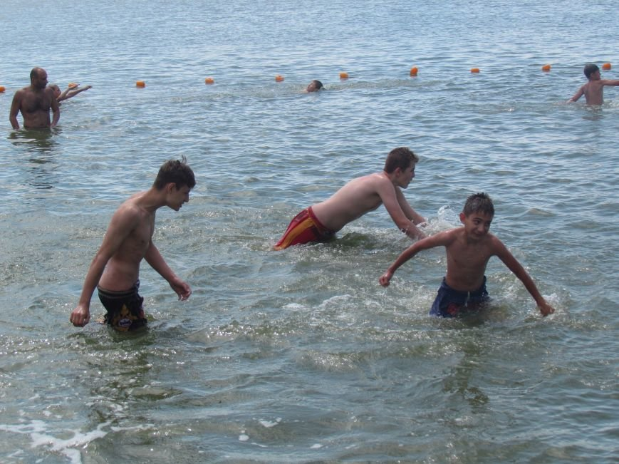 В Мариуполе открылась летняя школа плавания (ФОТОРЕПОРТАЖ), фото-27