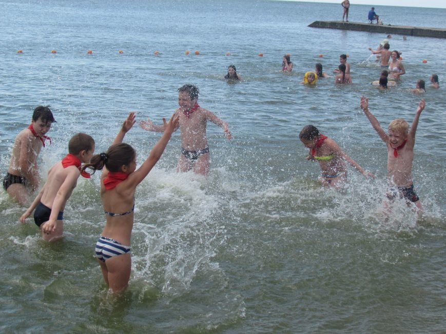 В Мариуполе открылась летняя школа плавания (ФОТОРЕПОРТАЖ), фото-26