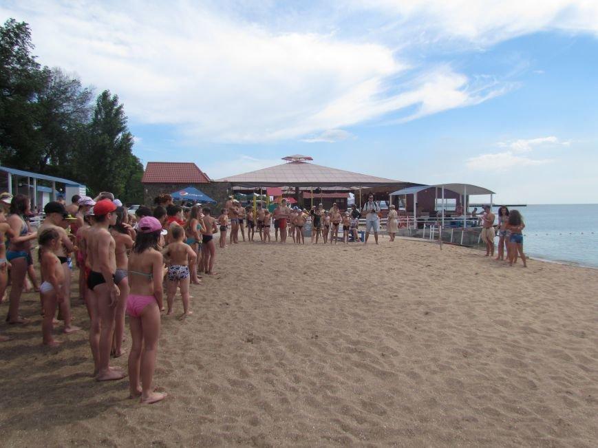 В Мариуполе открылась летняя школа плавания (ФОТОРЕПОРТАЖ), фото-3