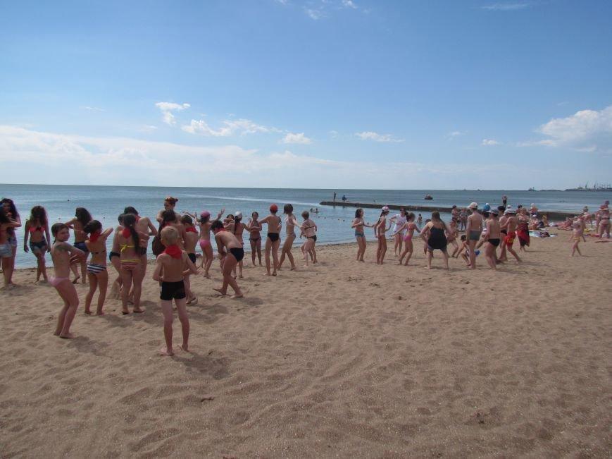 В Мариуполе открылась летняя школа плавания (ФОТОРЕПОРТАЖ), фото-8
