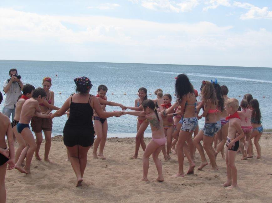 В Мариуполе открылась летняя школа плавания (ФОТОРЕПОРТАЖ), фото-12