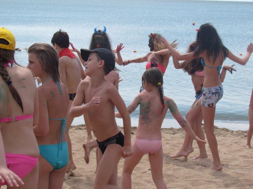 В Мариуполе открылась летняя школа плавания (ФОТОРЕПОРТАЖ), фото-9