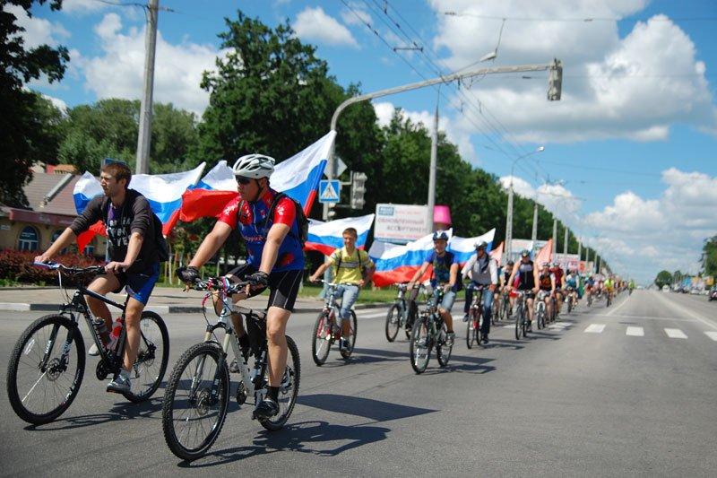 В Белгороде День России отметили авто- и велопробегом, фото-1