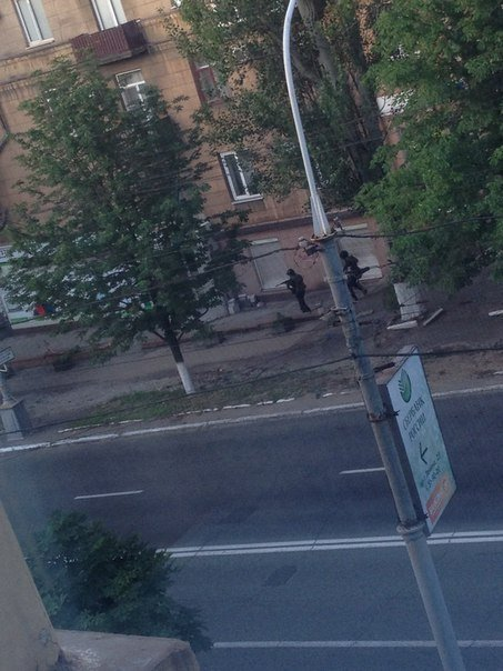 Сегодня, в пятницу 13 июня, мариупольцы проснулись от взрывов: в городе началась АТО (ФОТО + Видео он-лайн), фото-2