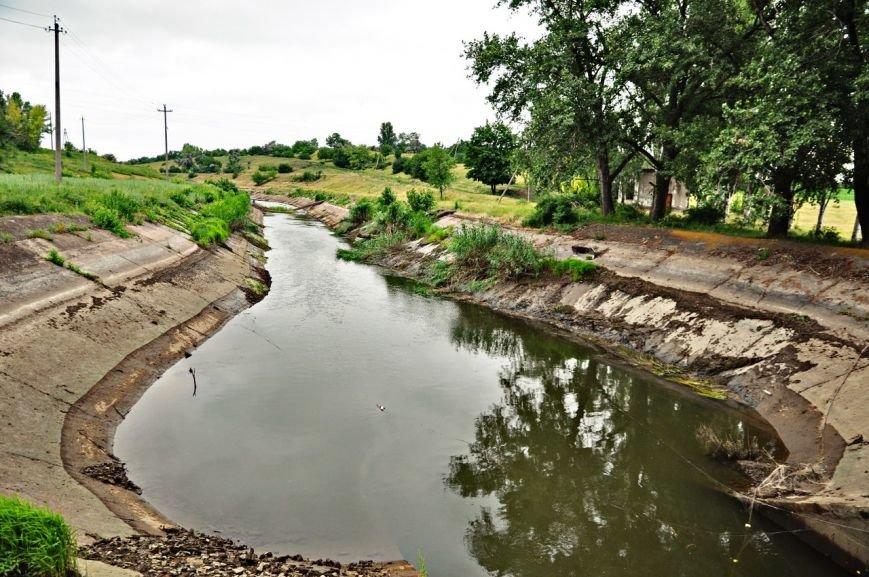 В связи с остановкой Канала в дневное время вода в Артемовске будет не выше второго этажа, фото-9