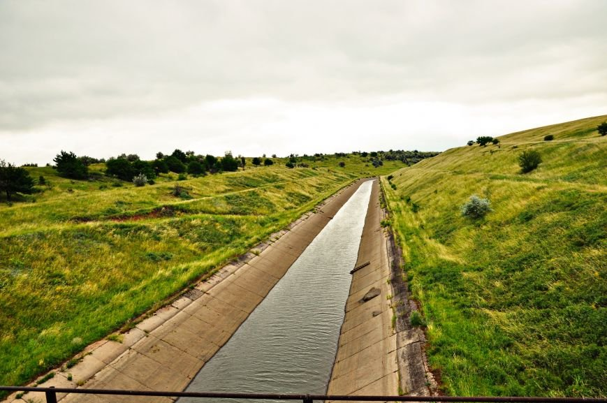 В связи с остановкой Канала в дневное время вода в Артемовске будет не выше второго этажа, фото-1