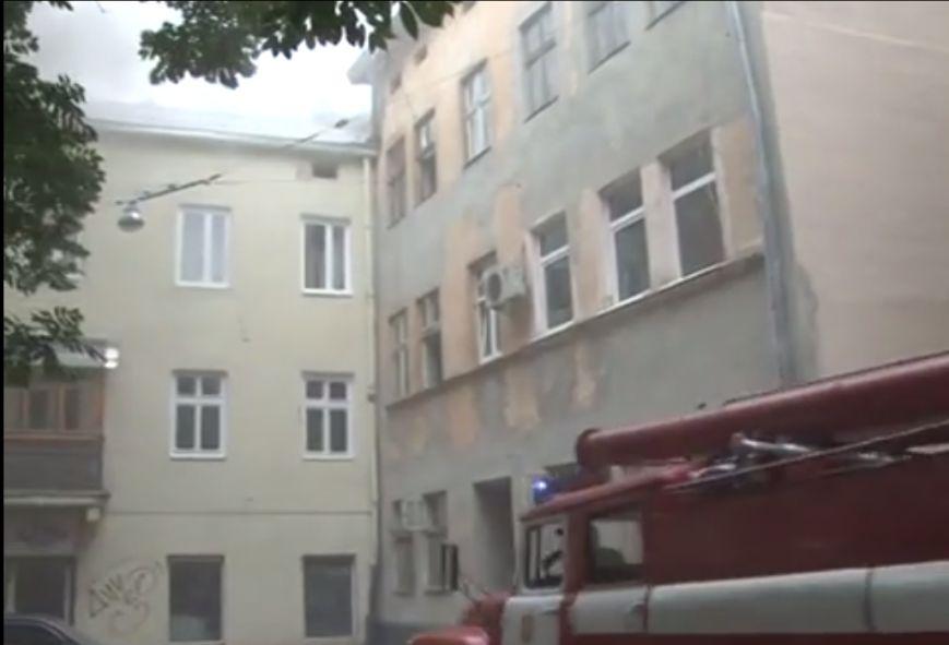 Аби уникнути трагедії під час пожежі, у Львові довелось евакуювали людей (ВІДЕО, ФОТО), фото-2