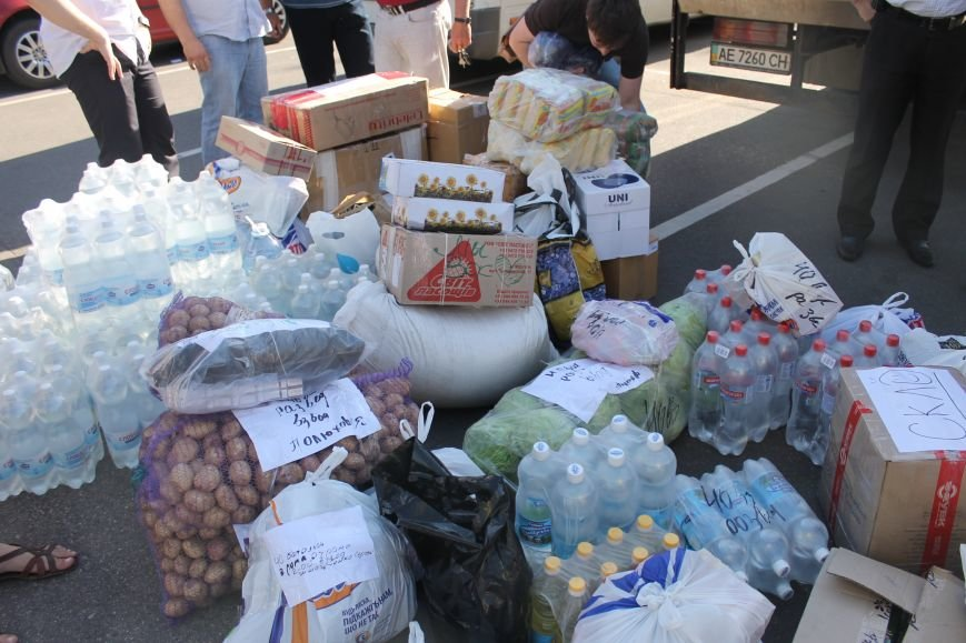 Криворожане передали солдатам АТО 10 тонн продуктов (ФОТО, ВИДЕО), фото-5