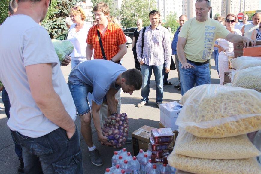 Криворожане передали солдатам АТО 10 тонн продуктов (ФОТО, ВИДЕО), фото-1