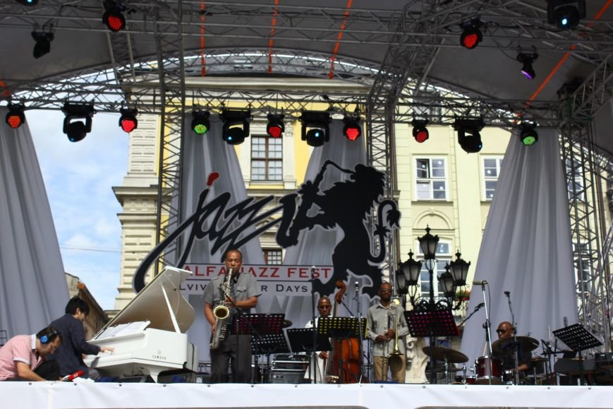Джазова легенда Едді Аллен зізнався у коханні Львову (фоторепортаж, програма), фото-2