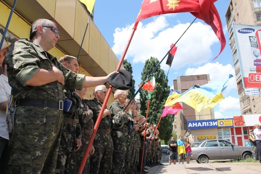 В Кривом Роге прошел молебен и митинг памяти погибших воинов  (ФОТО), фото-12
