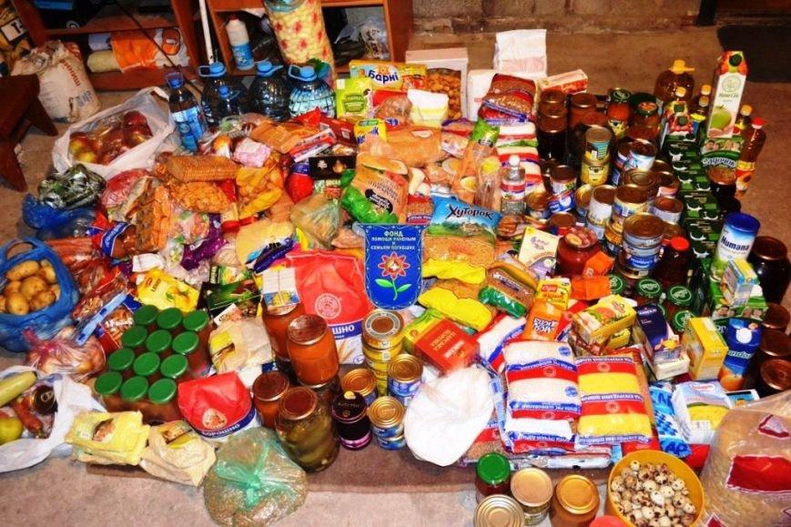 Мариупольцы собрали беженцам из Славянска два автомобиля с продуктами, одеждой и игрушками, фото-7