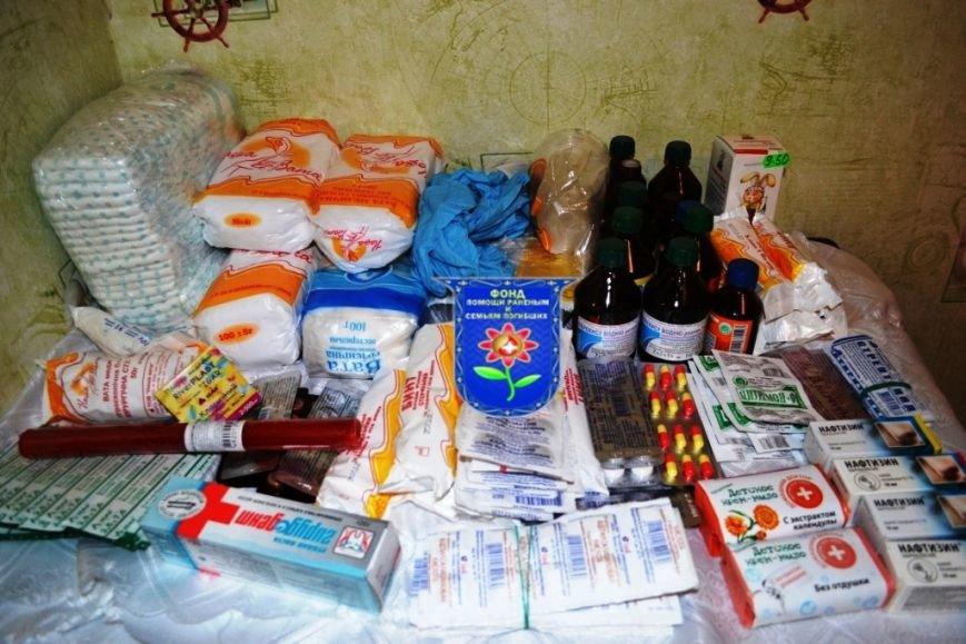 Мариупольцы собрали беженцам из Славянска два автомобиля с продуктами, одеждой и игрушками, фото-5