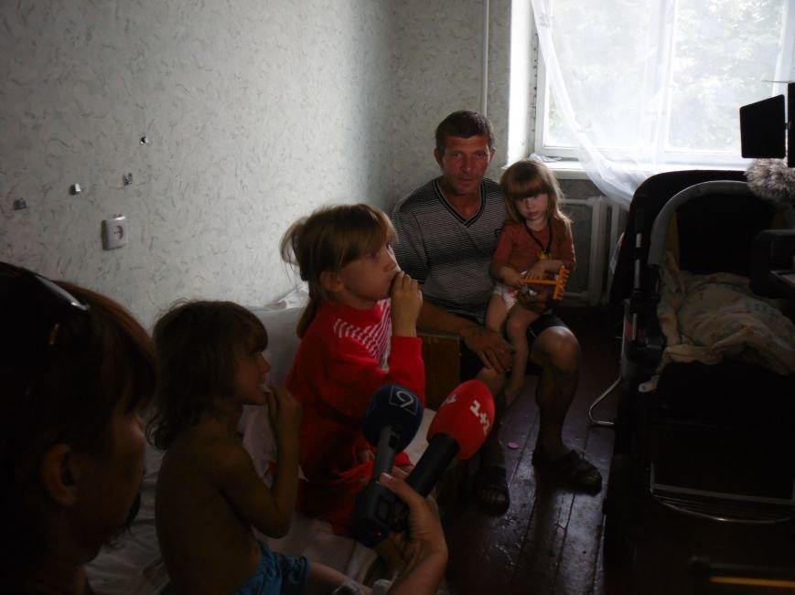 «В Днепропетровск ехали на последнем бензине», - многодетная мать, беженка из Славянска (ФОТО), фото-2