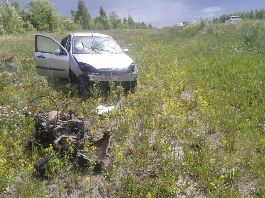 Опрокидывание Форд Фокус 15.06.14.