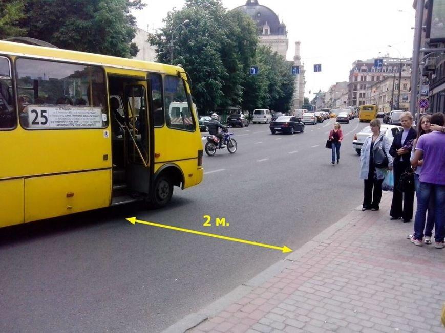 Львівські водії маршруток вкрай «охаміли» та злісно порушують ПДР (ФОТО), фото-2