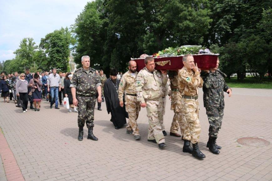 Чернигов попрощался с погибшим на Донбассе Алексеем Коноваловым, фото-8