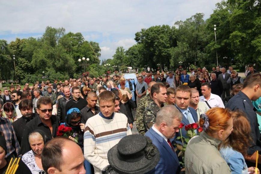 Чернигов попрощался с погибшим на Донбассе Алексеем Коноваловым, фото-12