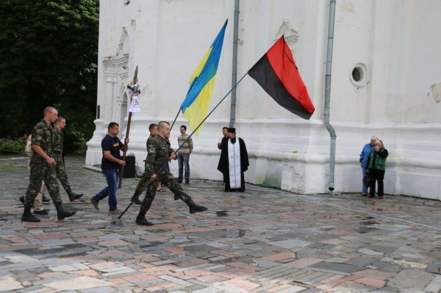 Чернигов попрощался с погибшим на Донбассе Алексеем Коноваловым, фото-9
