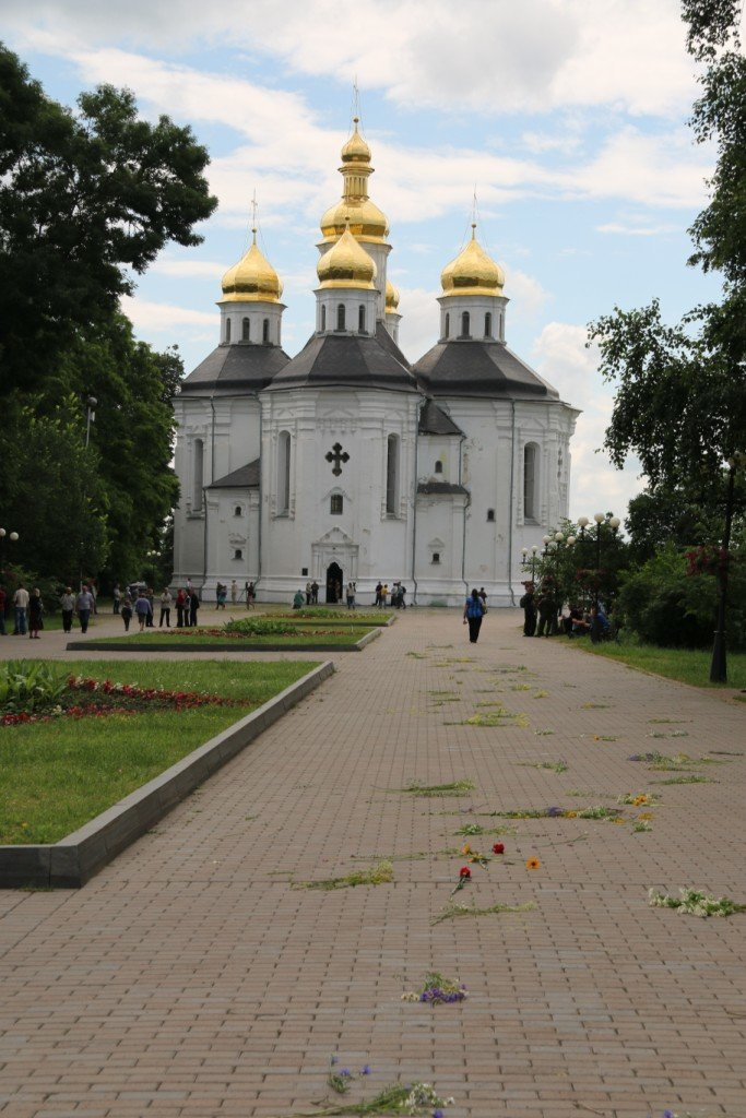 Чернигов попрощался с погибшим на Донбассе Алексеем Коноваловым, фото-1