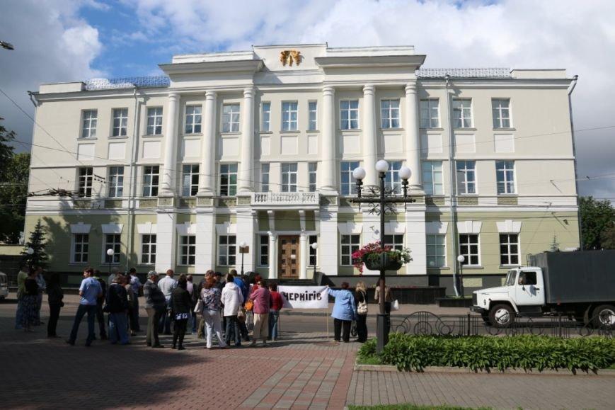 Черниговцы протестуют против валютного произвола, фото-5