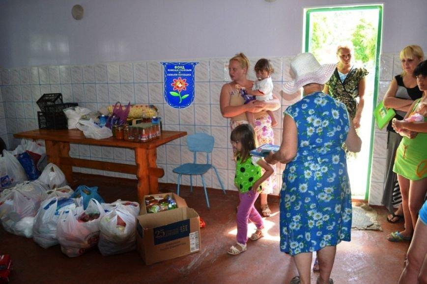 Мариупольцы передали беженцам из Славянска продукты, медикаменты и детские игрушки (ФОТО), фото-1