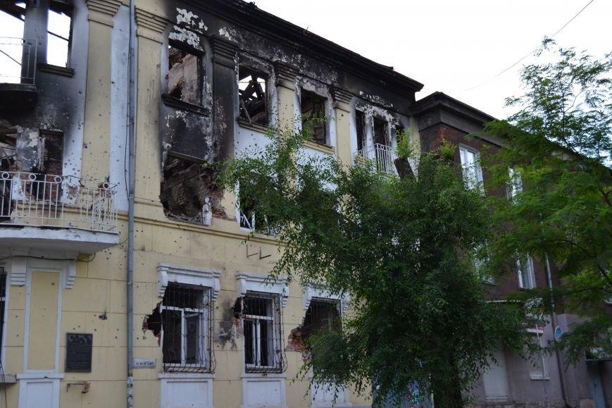 В Мариуполе возобновились работы по реконструкции сгоревшего здания ГУВД (ФОТО), фото-2
