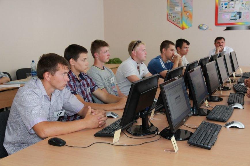 В Артемовском аграрном лицее учится самый лучший тракторист в Украине, фото-2