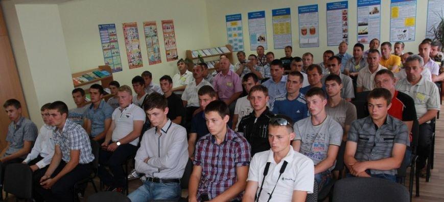 В Артемовском аграрном лицее учится самый лучший тракторист в Украине, фото-1