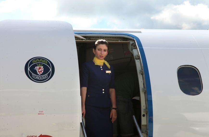 У Львові приземлився перший бюджетний рейс з Києва (ФОТО), фото-5