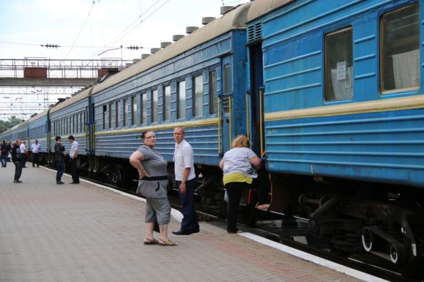 Первый поезд Чернигов-Симферополь заполнился лишь на четверть, фото-17
