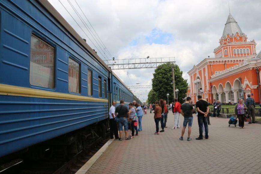 Первый поезд Чернигов-Симферополь заполнился лишь на четверть, фото-19