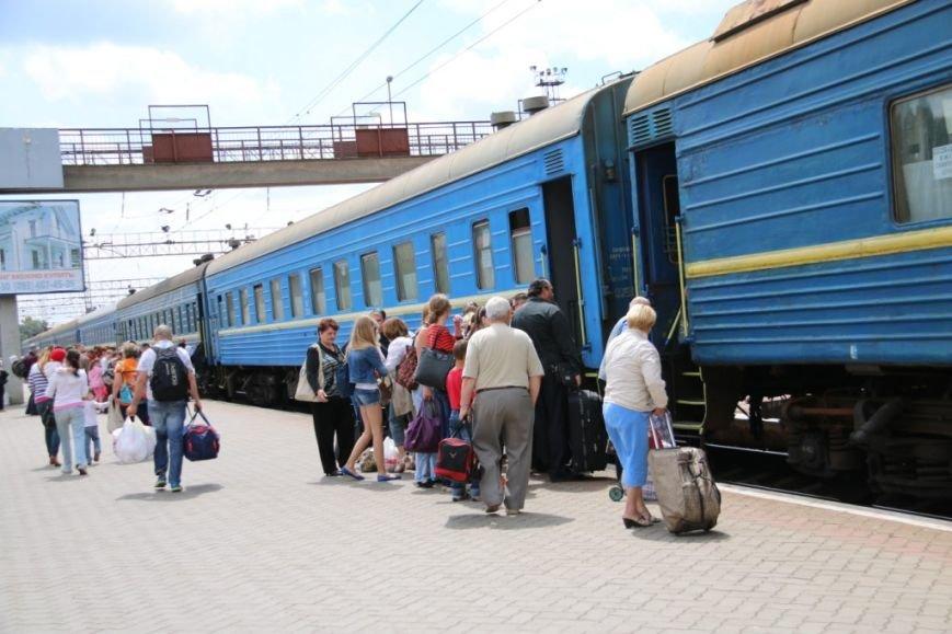 Первый поезд Чернигов-Симферополь заполнился лишь на четверть, фото-13