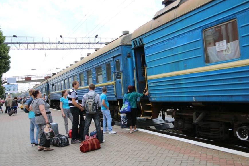 Первый поезд Чернигов-Симферополь заполнился лишь на четверть, фото-15