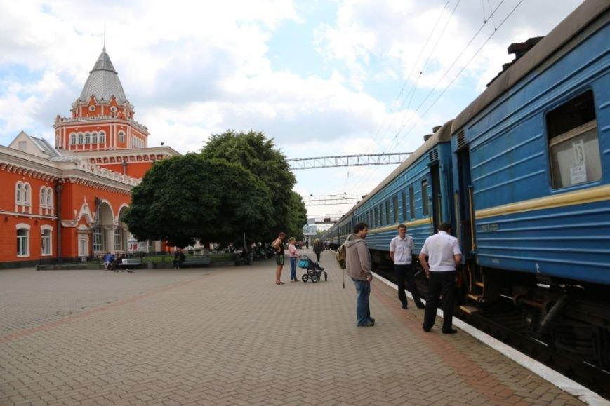 Первый поезд Чернигов-Симферополь заполнился лишь на четверть, фото-16