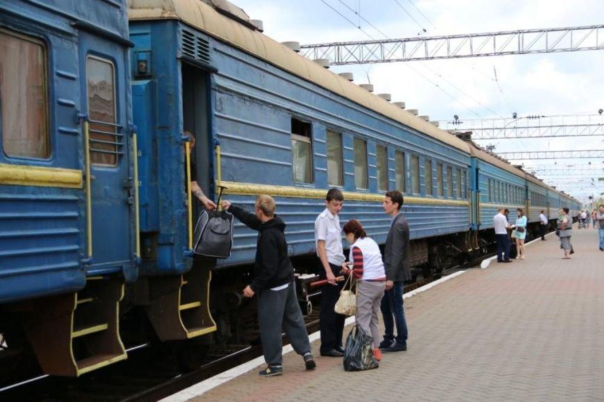 Первый поезд Чернигов-Симферополь заполнился лишь на четверть, фото-18
