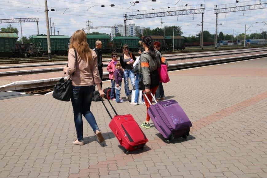 Первый поезд Чернигов-Симферополь заполнился лишь на четверть, фото-3