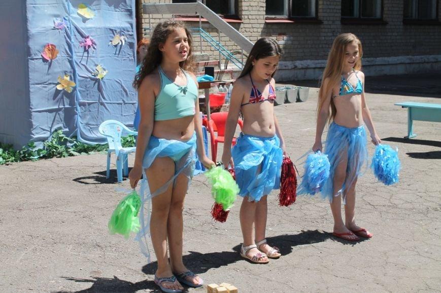 День Нептуна в артемовской школе №12 закончился «Водной битвой», фото-2
