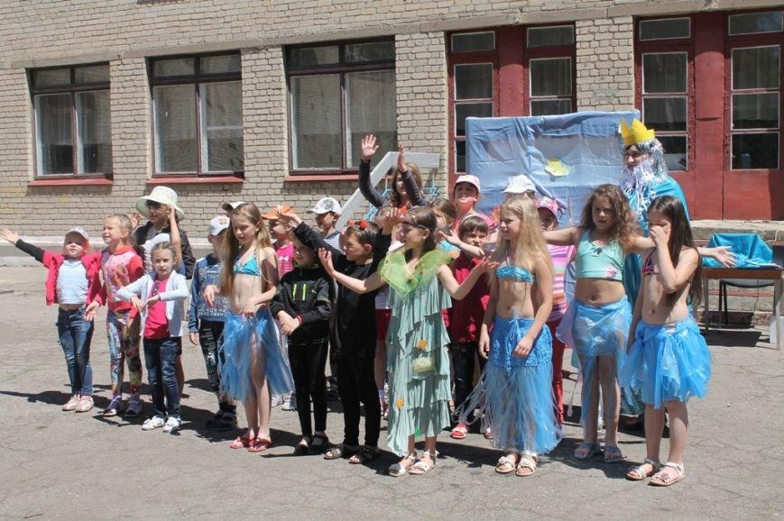 День Нептуна в артемовской школе №12 закончился «Водной битвой», фото-6