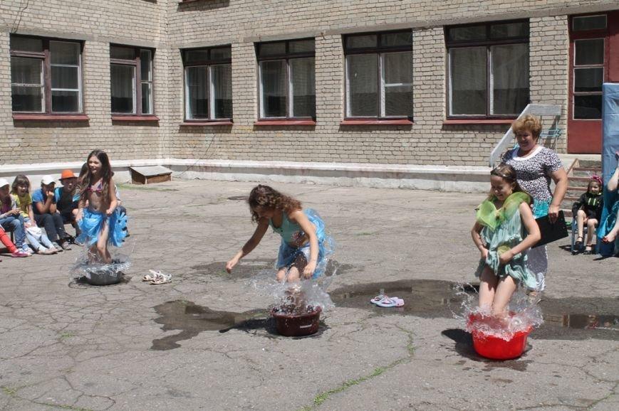 День Нептуна в артемовской школе №12 закончился «Водной битвой», фото-11