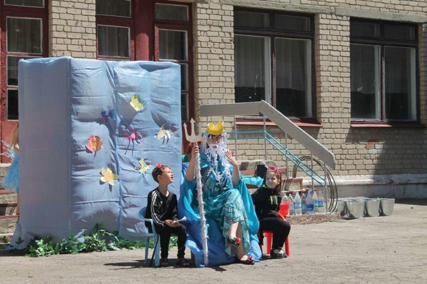 День Нептуна в артемовской школе №12 закончился «Водной битвой», фото-1