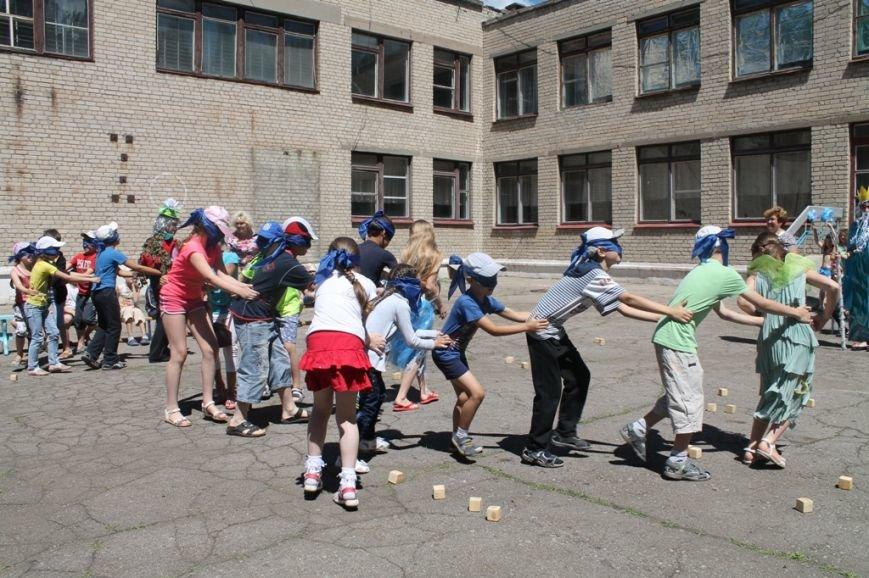 День Нептуна в артемовской школе №12 закончился «Водной битвой», фото-5