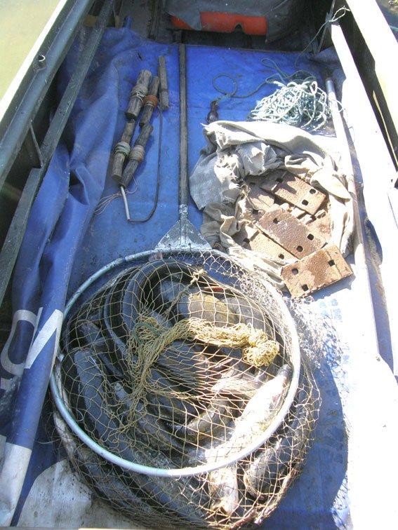 Кременчугский браконьер добывал сомов с помощью переметов (ФОТО), фото-4